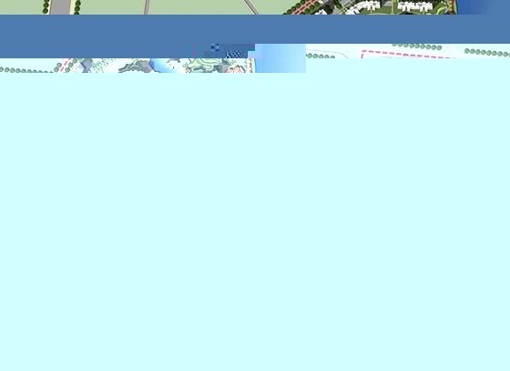 [湖南]国际高尔夫社区景观方案详细规划-平面图