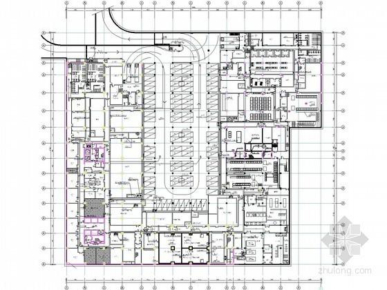 [四川]某五星级酒店全套弱电图纸(特大型甲级院)