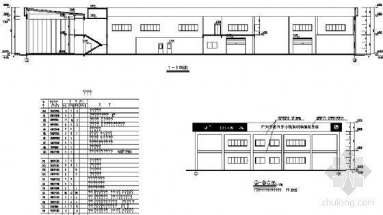 某二层本田销售店建筑施工图-2