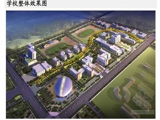 [北京]钢屋盖钢框架结构体育艺术管结构设计
