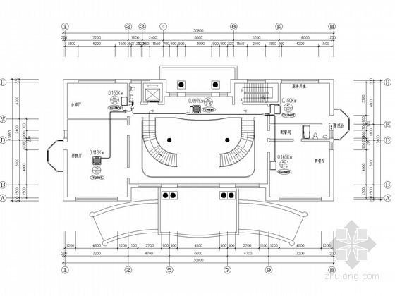某办公综合楼VRV空调设计施工图