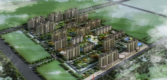 [北京]简欧风格住宅区规划及单体设计方案文本