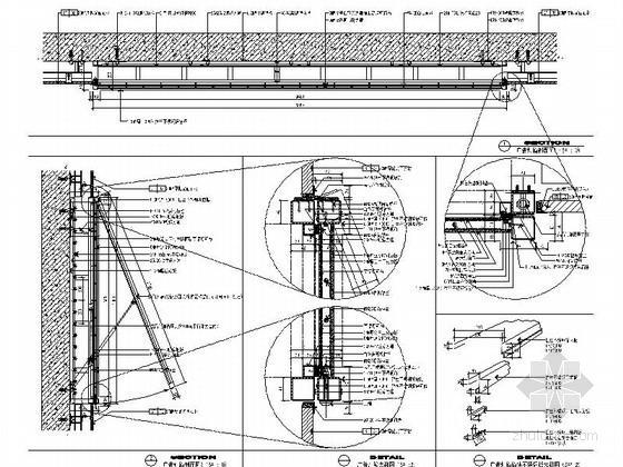广告灯箱节点CAD图块下载