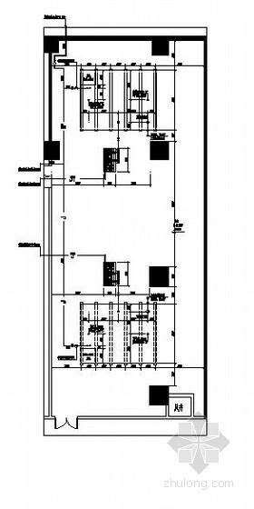 消防泵房、生活水泵房大样图