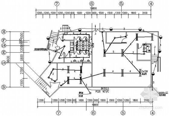 [峨眉山]广场电气改造工程施工图纸