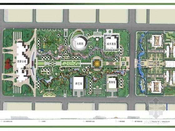 [内蒙]城市中心公园设计方案文本