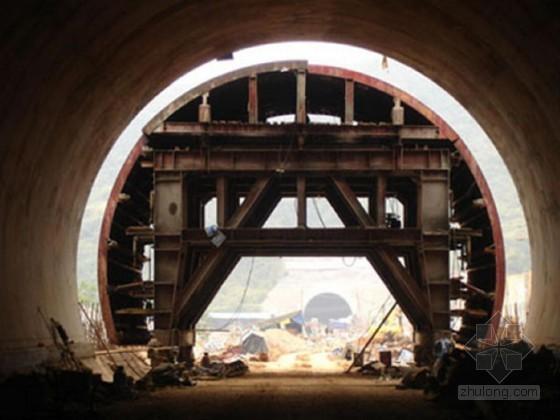 地铁隧道主体结构及风道二衬模板支撑架计算书