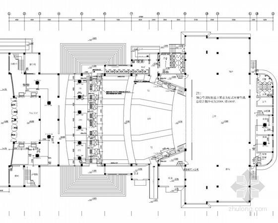 VRV风管机空调图资料下载-小型剧场剧院VRV空调通风排烟系统设计施工图