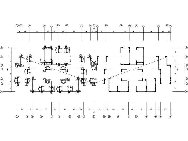 [安徽]两栋18层剪力墙结构高层住宅楼结构施工图