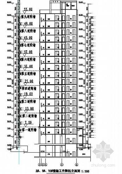 [河南]高层住宅工程施工升降机施工方案(SC型施工升降机)