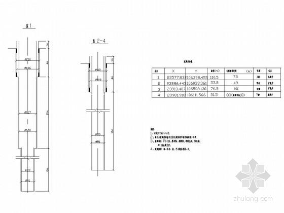 监测井结构图