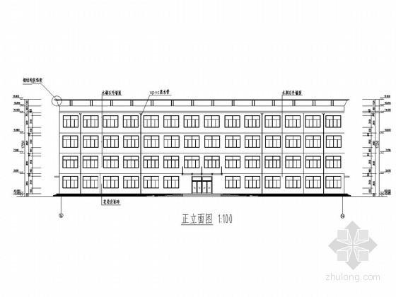 [学士]3500平米四层框架结构办公楼毕业设计(含建筑图结构图计算书等)