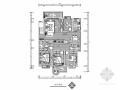 [毕业设计]现代简约四室两厅室内设计装修图(含效果模型)