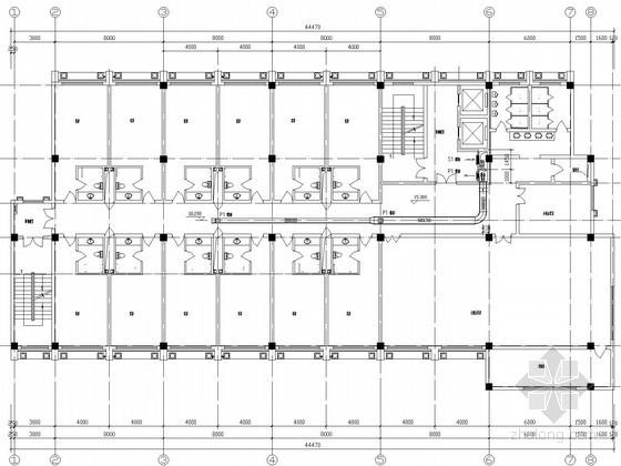 宾馆酒店建筑消防防排烟系统设计施工图
