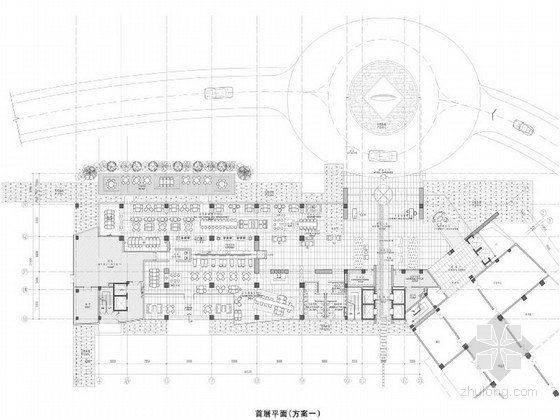 [广东]高端国际商务酒店室内装修设计方案