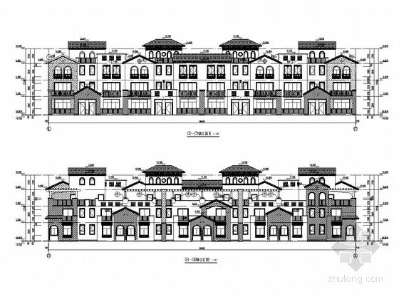 [江西]三层异形柱框架结构住宅结构施工图(含建筑图)
