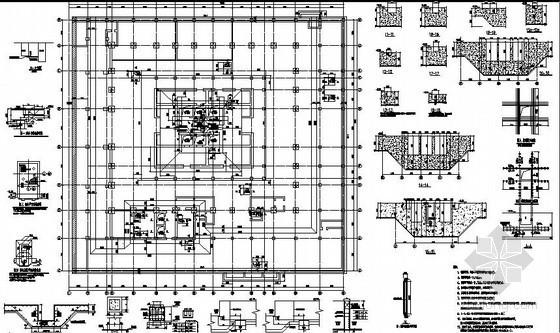 [南通]某国际贸易中心超高层框筒结构施工图(中建)