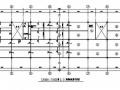 8°区某3层框架支撑体系钢结构厂房施工图