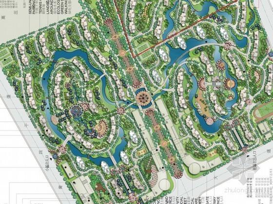 [武汉]居住区总体景观规划设计