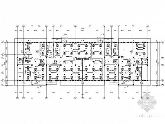 [山东]大型煤矿厂水源热泵系统竣工图纸(热泵机房,电气自控)