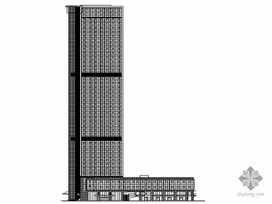 [杭州]钱江新城某四十层商务中心建筑施工图(超高层)