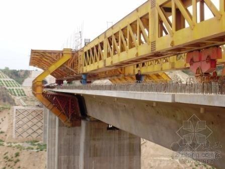 京福铁路客运专线安徽段某标移动模架现浇梁施工方案