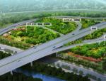 [湖北]5大类型城市滨水森林立交匝道绿化提升景观设计方案(18个立交设计方案)