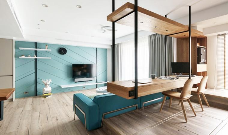 新竹现代风亲子公寓-7