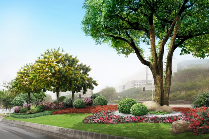"""[广东]""""源代码""""科技创意生态道路景观改造设计方案_8"""