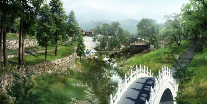 [广东]岭南佛教禅宗文化生态墓园景观设计方案_2