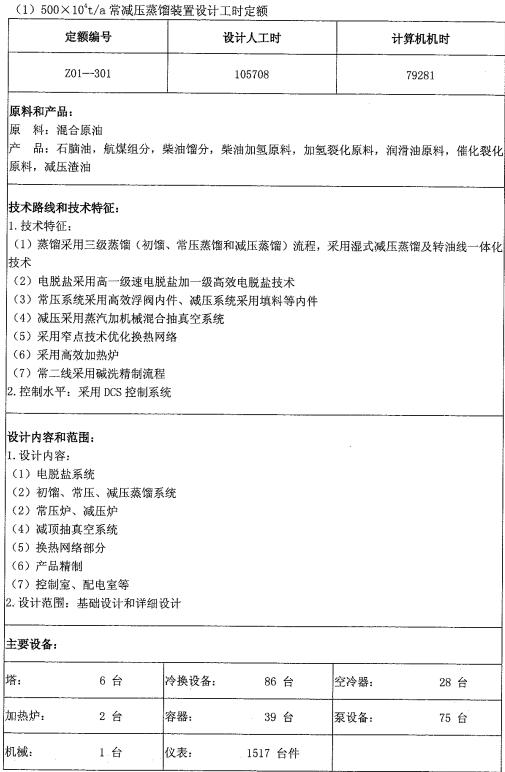 石油化工工程建设项目设计取费办法2003_3
