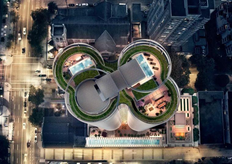 一栋住宅十年设计,这可能是世界上最梦幻的公寓楼_45