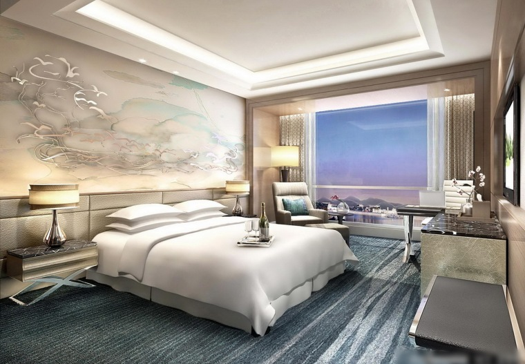HBA--安徽芜湖喜来登酒店概念设计方案文本