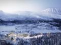 Nordic公布挪威滑雪度假村规划方案,营造新自然建筑关系