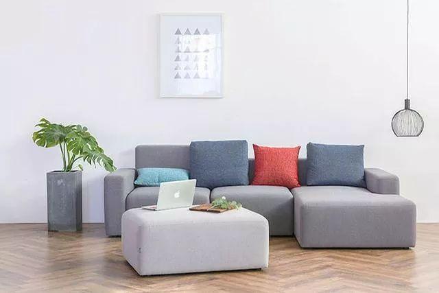 你不知道的客厅彩色沙发,给你不一样的格调。_11