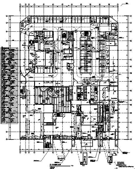 江苏国际贸易中心暖通全套施工图(全专业,大院出品)