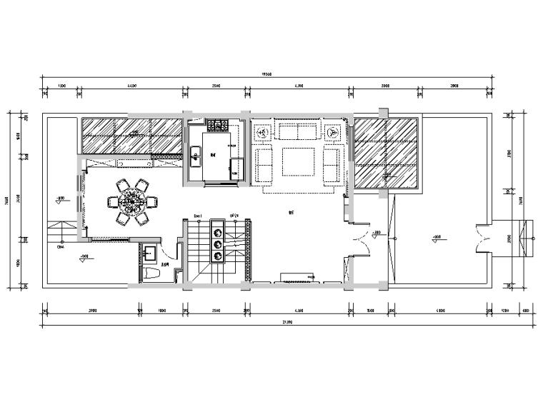 千灯熙岸铭郡联排别墅设计施工图(附效果图+软装配置)