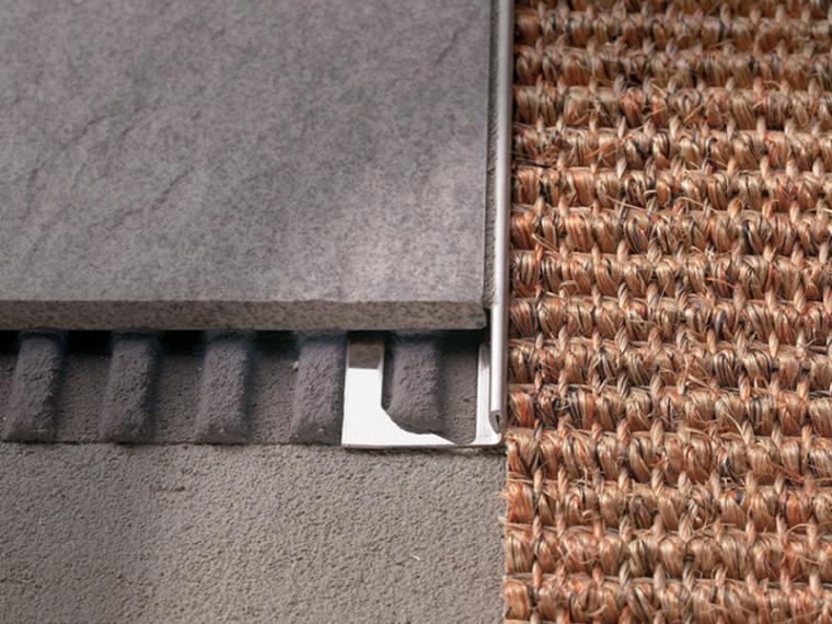 室内设计地板砖、墙砖、阳角、阴角收口细节图43P-砖--地毯03