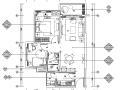 [广东]清新现代创域熙璟城精装样板房设计施工图(附效果图+材料清单)