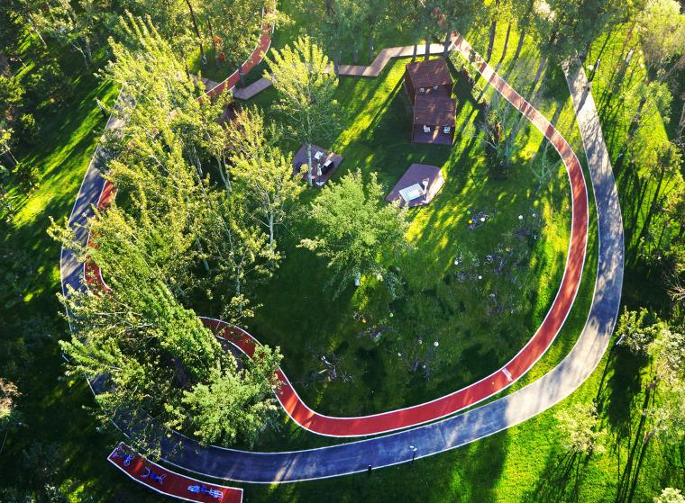 u型公园su资料下载-北京社区配套运动公园