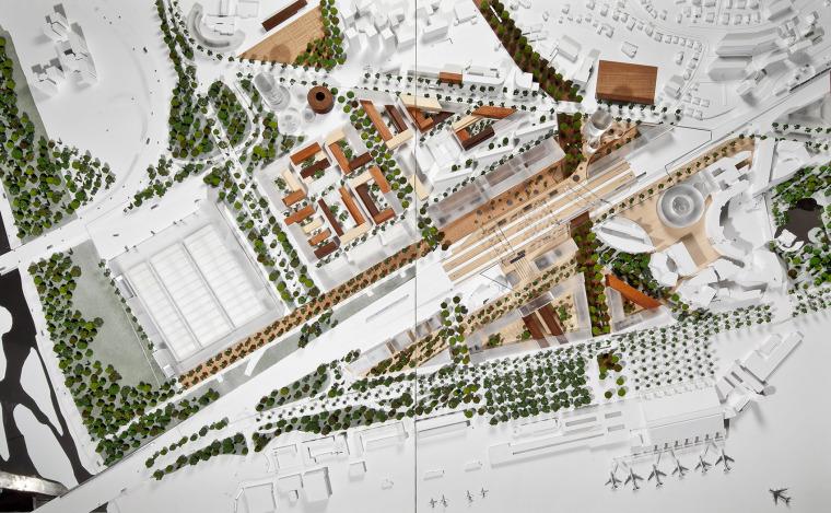 法国尼斯新综合联运枢纽中轴线-18