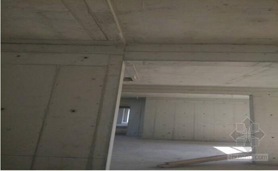 建筑工程铝框木塑模板的应用图解