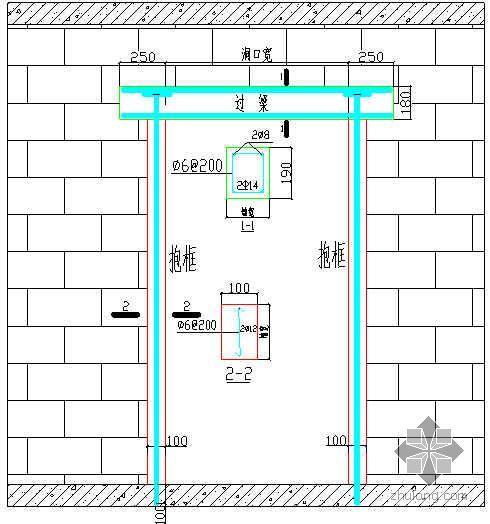 北京某经济适用房框架二次结构砌筑施工工艺