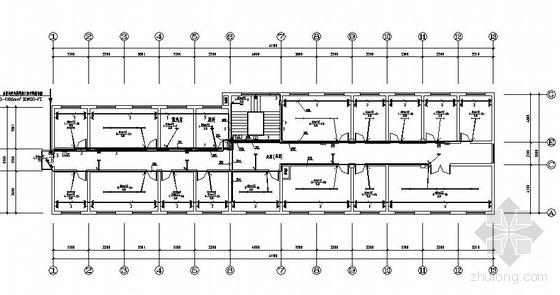 某六层办公楼照明设计施工图