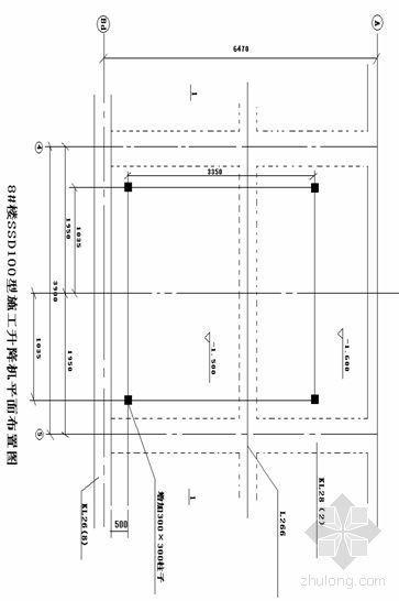 杭州某工程SSED100型升降机施工方案