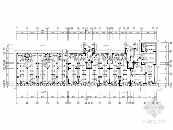 小区二类高层住宅楼全套电气施工图纸52张