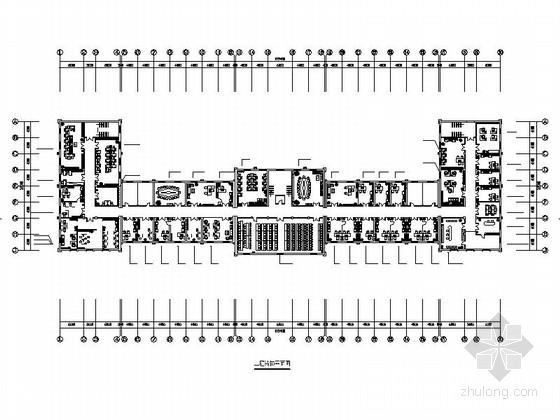 现代办公楼室内装饰工程施工图