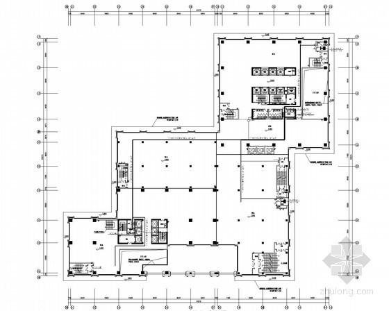 [安徽]高层商业中心强弱电施工图(商业住宅部分)