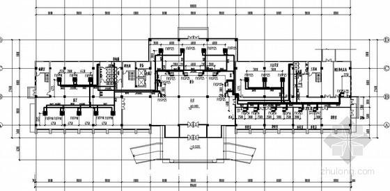 某四层办公楼空调图纸