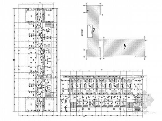办公楼建筑给排水施工图(直饮水系统)